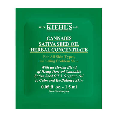 Cannabis Sativa Seed Oil Herbal Concentrate
