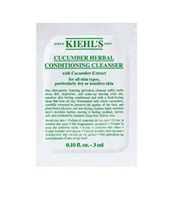 Cucumber Herbal Conditioning Cleanser Sample