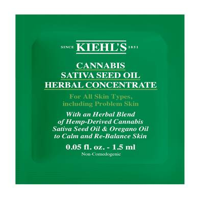 Cannabis Sativa Seed Oil Herbal Concentrate Esantion