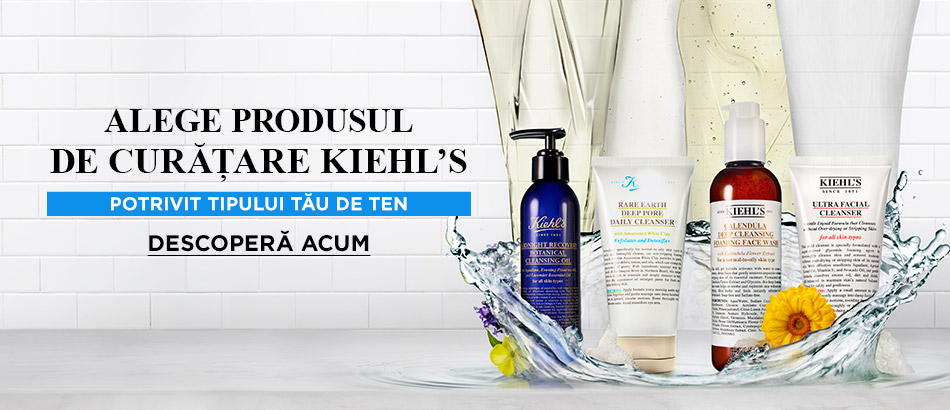 Cleansers Kiehl´s